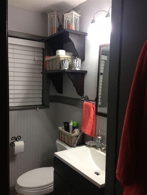coral bathroom gray and coral bathroom my web value
