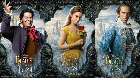 beauty   beast character posters revealed youtube