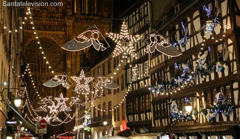 photo illuminations de noel  strasbourg en france