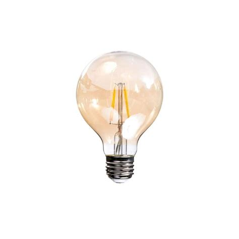 40w equivalent soft white vintage filament g25 dimmable