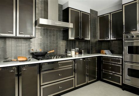 modern backsplash kitchen black kitchen backsplash design ideas 4188