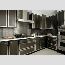 Black Kitchen Backsplash Design Ideas