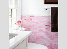 Pink Backsplash Design Ideas