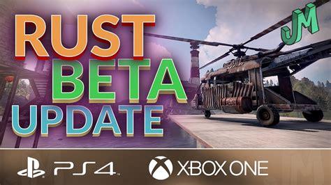 rust xbox ps4 beta