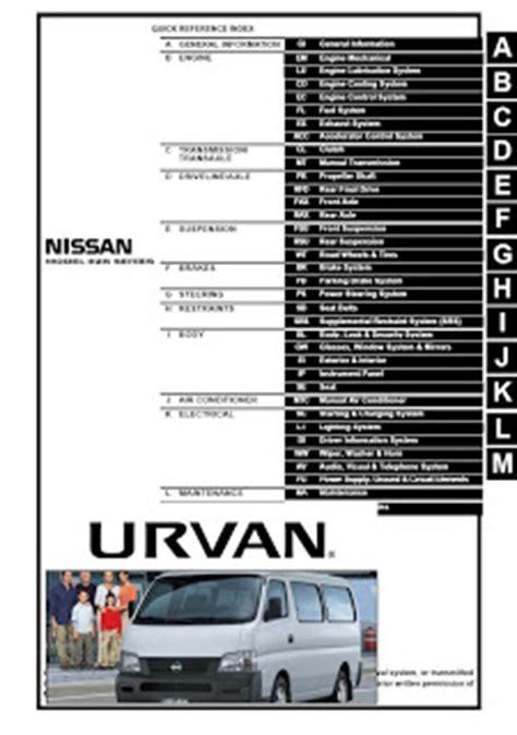 manuales de mecanica automotriz by autorepair soft manual de reparacion nissan urvan ka24de