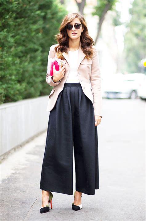 How To Wear Culottes 2018 | FashionGum.com