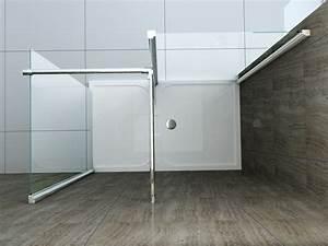Dusche Ohne Duschtasse : 150 x 90 cm walk in glas schnecken dusche duschkabine duschwand duschabtrennung ~ Indierocktalk.com Haus und Dekorationen