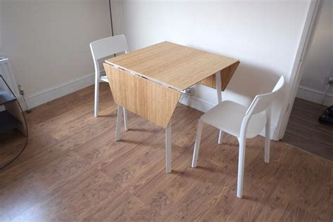 Drop-leaf Table Ikea Ps 2012 And 2 Chairs