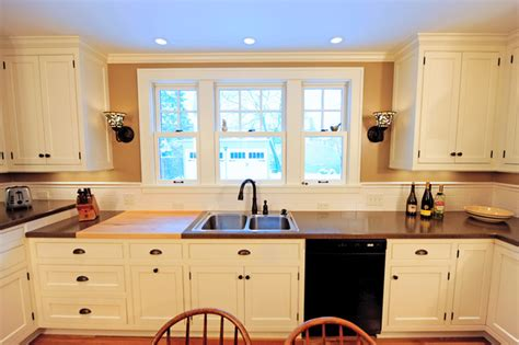 1930 style kitchen cabinets large windows more lighting traditional kitchen 3810