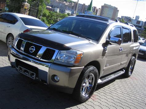 2006 Nissan Armada Review by 2006 Nissan Armada Pictures 5600cc Gasoline Automatic