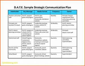 best of project communication plan template best templates With change communication plan template