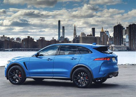 Jaguar Fpace Svr Approaches Super Suv Status With 542hp