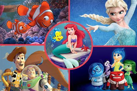 ranked  major disney  pixar animated