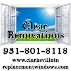 clear phone number clear renovations windows installation 800 briarwood