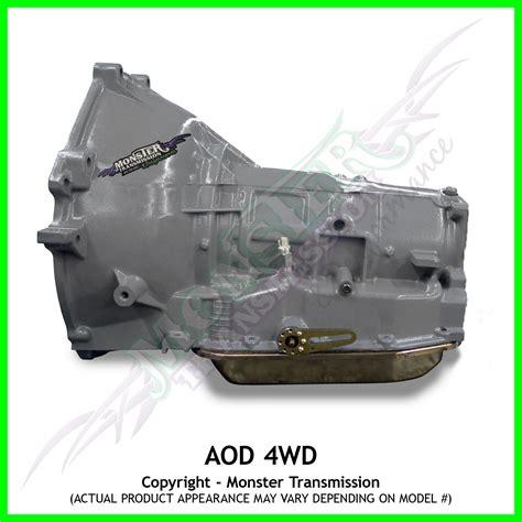 Ford Aod Transmission by Aod Transmission Remanufactured Performance Heavy Duty 4x4