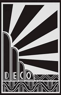 art deco design 20+ Inspiring Examples of Art Deco Posters - PSD, Vector ...