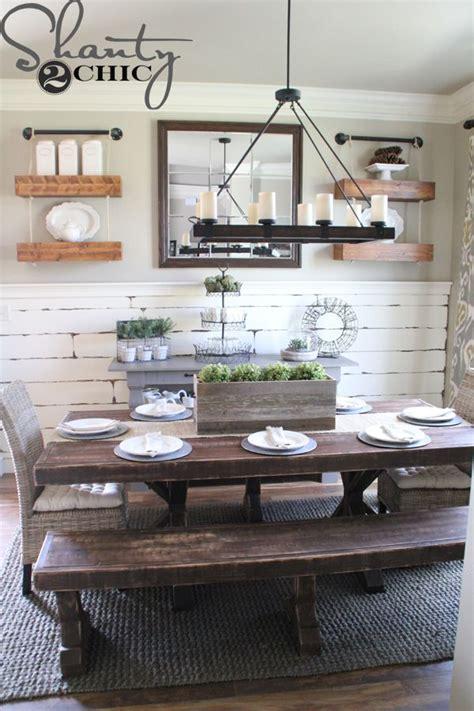 diy barn wood planter box dining room walls dining room