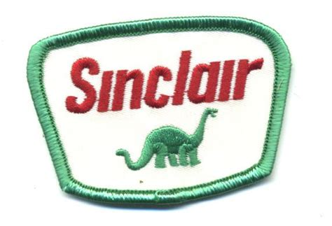 Sinclair Patch Badge Dino Motor Oil Gasoline Hot Rod