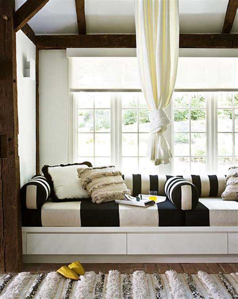 window seat curtains beautiful bay window decorating ideas for your
