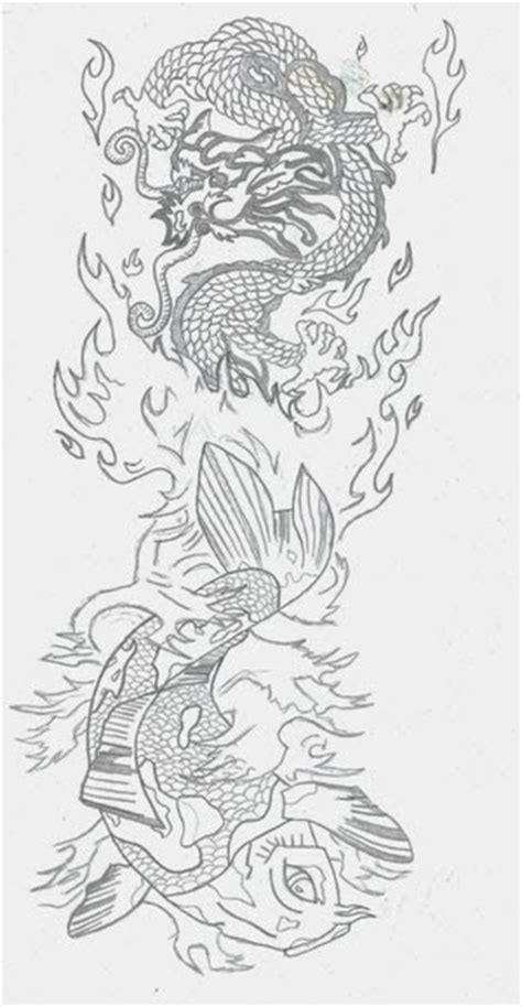 koi tattoo flash koi fish tattoo