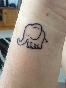 #tattoo #elephant #cute | bright and colorful | Pinterest