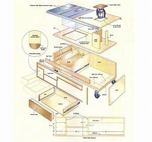 Woodworking Feed Table - DIY Woodworking Projects