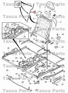 Brand New Oem Rear 3rd Row Seat Frame Wire Box 2003