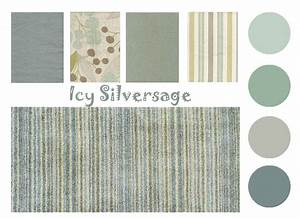 Color Board Icy Silversage The Distinctive Cottage