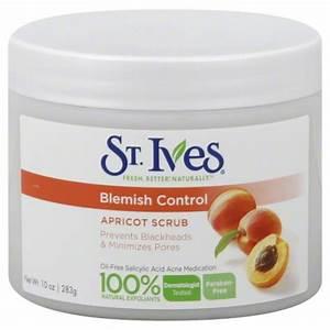 St Ives Apricot Scrub Natural Clear Blemish U0026 Blackhead 10 Oz