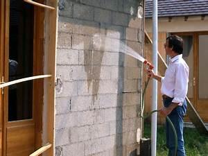crepir un mur exterieur pratiquefr With crepir un muret exterieur