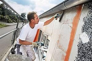 comment ravaler et decaper une facade With comment peindre une facade