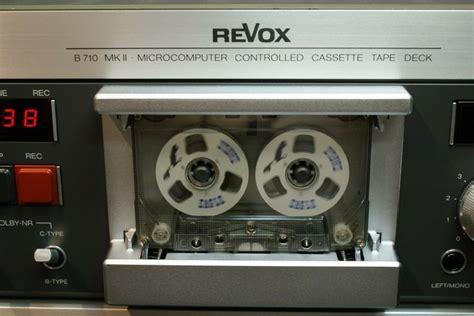 Tape Deck Revox B 710 Mkii  Decks And Tape