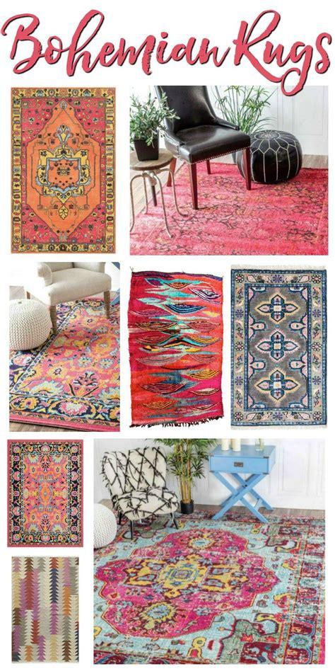 bohemian rugs beautiful boheme rooms   find