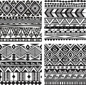 african patterns black and white seamless - Google Search ...