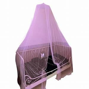 Moustiquaire Ciel De Lit : ciel de lit moustiquaire d40 cm rose ciel de lit eminza ~ Dallasstarsshop.com Idées de Décoration