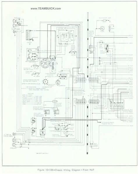 Buick Special Skylark Wiring Diagram Front Half