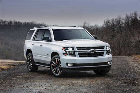 Tahoe Rst Is A Full-size Chevrolet Suv Packing 420 Hp