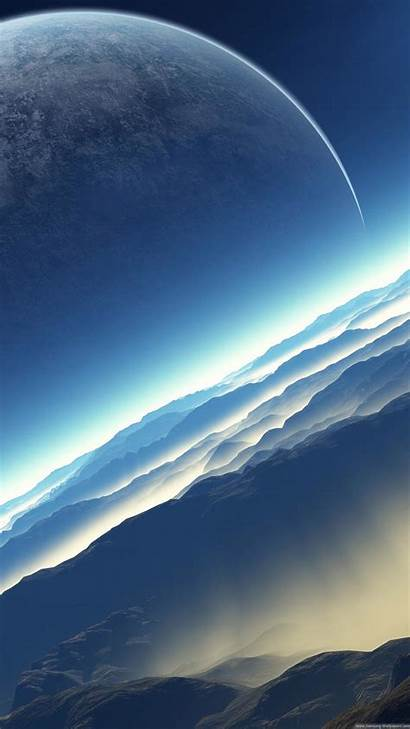 Iphone Space Fictional Exoplanet Wallpapers 4k Iphonewalls
