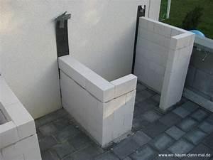Outdoor Küche Beton : outdoor k che mit kalksandsteinen mauern wir bauen dann ~ Michelbontemps.com Haus und Dekorationen