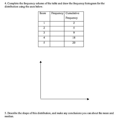Histogram Worksheet Free Worksheets Library  Download And Print Worksheets  Free On Compraren