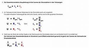 Widerstand In Reihe Berechnen : herleitung gesamtwiderstand parallelschaltung elektronik ~ Themetempest.com Abrechnung