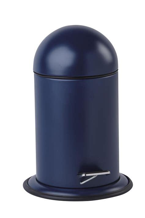 Bad Abfalleimer Design by Abfalleimer Bad Kosmetikeimer Ona Dunkelblau 3 Liter