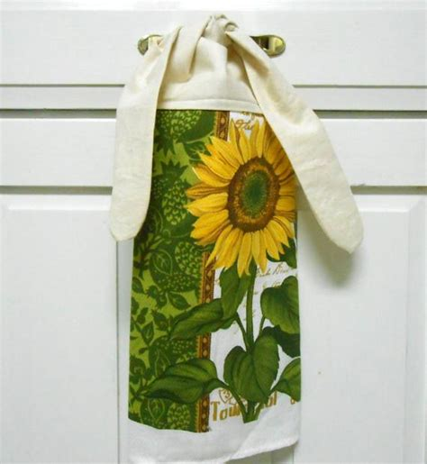 Kitchen Towels With Ties by Kitchen Towel Dish Towel Hanging Towel Tie By