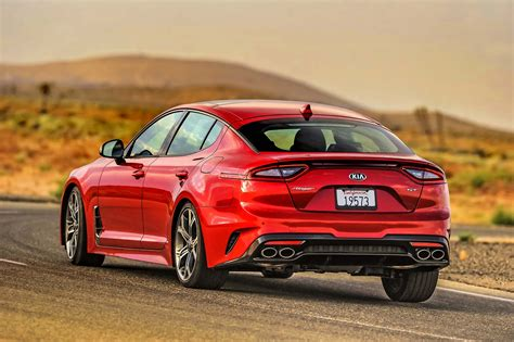 2018 Kia Stinger Gt 33t Rwd One Week Review Automobile