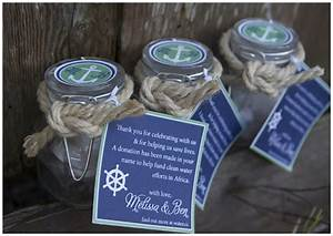 blue green nautical wedding shower pizzazzerie With nautical wedding favors ideas