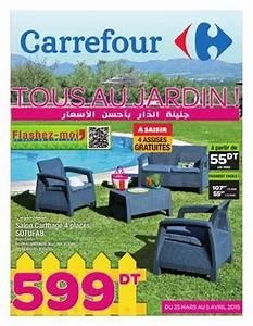 catalogue carrefour quottous au jardin quot by carrefour With catalogue carrefour tunisie meubles