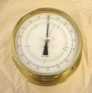 Fischer Precision Aneroid Barometer