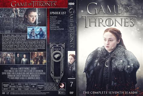 game  thrones season  dvd cover cover addict dvd
