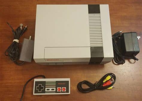 Original Nintendo Console by Refurbished Original Nes Nintendo System Console New 72