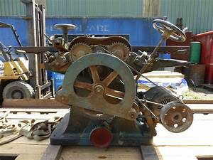 Vintage Woodworking Machinery With Popular Picture